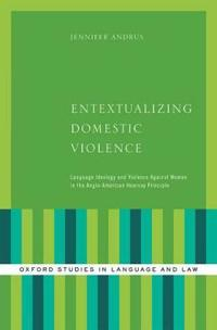 Entextualizing Domestic Violence
