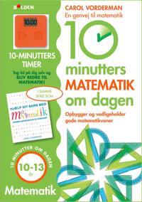 10 minutters matematik om dagen: 10-13 år