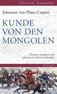 Kunde von den Mongolen