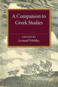 A Companion to Greek Studies