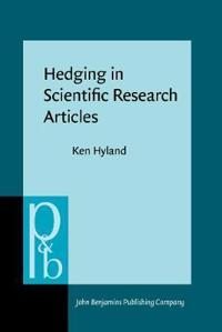 Hedging in Scientific Research Articles