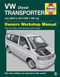 Vw transporter (t5) diesel owners workshop manual