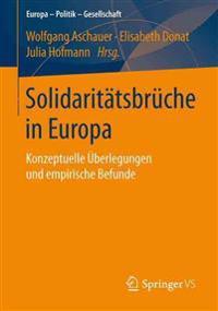 Solidaritätsbrüche in Europa
