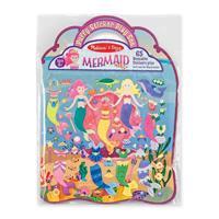 Puffy Sticker Play Set - Mermaid