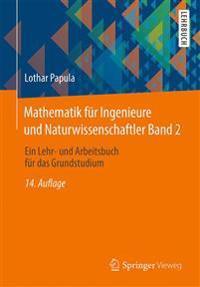 Mathematik Fur Ingenieure Und Naturwissenschaftler Band 2: Ein Lehr- Und Arbeitsbuch Fur Das Grundstudium