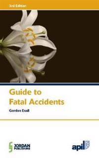 Apil Guide to Fatal Accidents: Third Edition