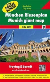 München 1 : 12 500 Riesenplan