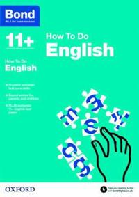Bond 11+: English: How to Do