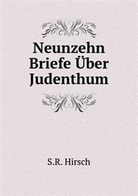 Neunzehn Briefe Uber Judenthum