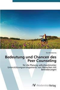 Bedeutung Und Chancen Des Peer Counseling