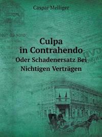 Culpa in Contrahendo Oder Schadenersatz Bei Nichtigen Vertragen