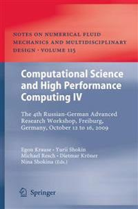 Computational Science and High Performance Computing IV