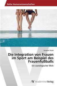 Die Integration Von Frauen Im Sport Am Beispiel Des Frauenfussballs