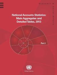 National accounts statistics 2013