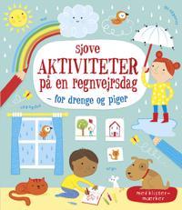Sjove aktiviteter på en regnvejrsdag for drenge og piger