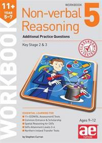 11+ non-verbal reasoning year 5-7 workbook 5 - additional practice question
