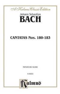 Cantatas No. 180-183: Miniature Score (German Language Edition), Miniature Score
