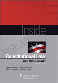 Inside Constitutional Law: What Matters and Why