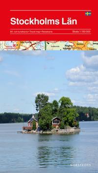 Stockholms län karta : 1:150000