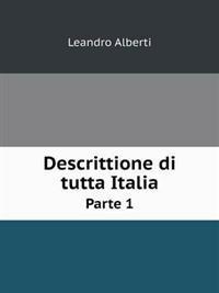 Descrittione Di Tutta Italia Parte 1