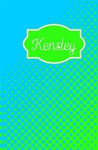 Kensley: Personalized Name Journal