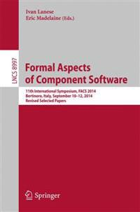 Formal Aspects of Component Software