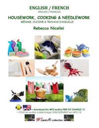 English / French: Housework, Cooking & Needlework: Color Version