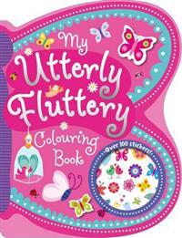 My utterly fluttery colouring book