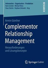 Complementor Relationship Management