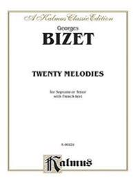 20 Melodies -- Soprano or Tenor: Contents Identical with K06832 (French Language Edition)