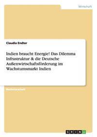 Indien Braucht Energie! Das Dilemma Infrastruktur & Die Deutsche Auenwirtschaftsforderung Im Wachstumsmarkt Indien