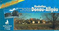 Donau-Allgau Radatlas Entlang Von Donau, Iller, Kammel, Gunz