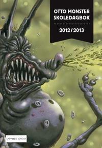 Otto Monster skoledagbok 2012/2013