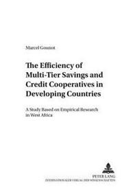 The Efficiency Of Multi-tier Savings And Credit Cooperatives In Developing Countries
