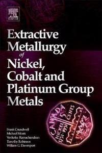 Extractive Metallurgy of Nickel, Cobalt and Platinum-Group Metals
