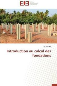 Introduction Au Calcul Des Fondations