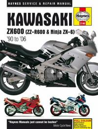 Haynes Kawasaki Zx600 - Zz-r600 & Ninja Zx-6 - '90 to '06 Repair Manual