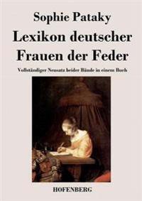 Lexikon Deutscher Frauen Der Feder