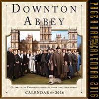 Downton Abbey Color 2016 Calendar
