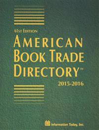 American Book Trade Directory 2015-2016