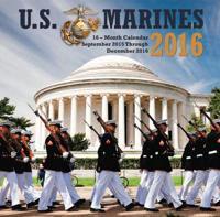 U.S. Marines 2016 Mini Calendar