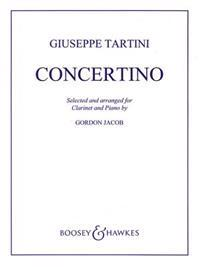 Concertino in F: For Clarinet and Piano