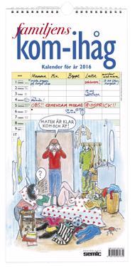 Familjens kom-ihåg-kalender 2016