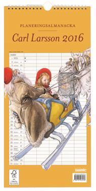 Carl Larsson planeringsalmanacka 2016