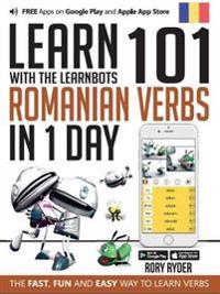 Learn 101 romanian verbs in 1 day with the learnbots - the fast, fun and ea