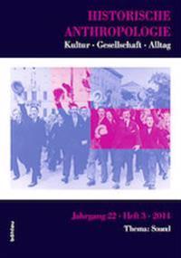 Historische Anthropologie 22,3