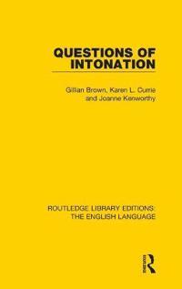 Questions of Intonation