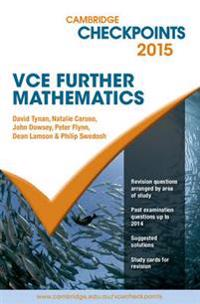 Cambridge Checkpoints VCE Further Mathematics 2015