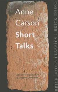 Short Talks: Brick Books Classics 1
