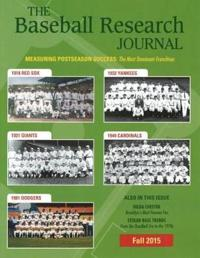 The Baseball Research Journal Fall 2015